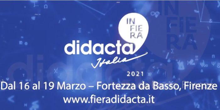 Fiera Didacta Italia – 16-19 Marzo 2021…On-Line!