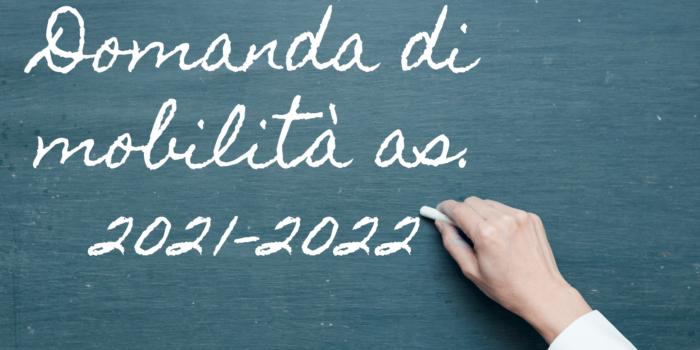 Domanda di mobilità del personale docente, educativo e A.T.A.