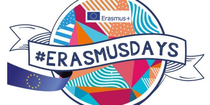 Volete far parte degli #ErasmusDays? 14, 15 e 16 ottobre 2021